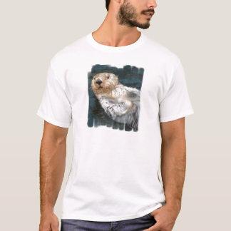 De T-shirt van het Mannen van de Otter van het zee