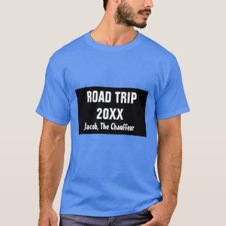 De T-shirt van het Mannen van de Reis van de Weg