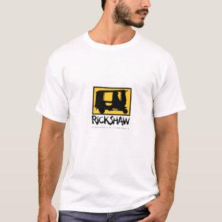 De T-shirt van het Mannen van de riksja