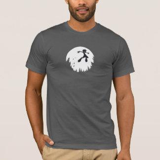 De t-shirt van het Mannen van de Sprong van Bitey