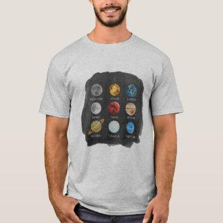 De T-shirt van het Mannen van de Waterverf van het