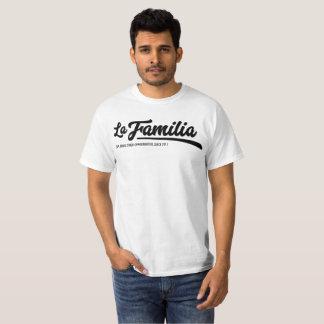 De T-shirt van het Mannen van La Familia