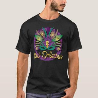 De T-shirt van het Masker van Gras van Mardi - New