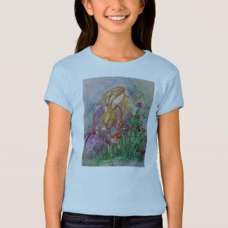 """De t-shirt van het meisje """"neigend van de Tuin"""""""