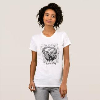 De T-shirt van het Meisje van de honing