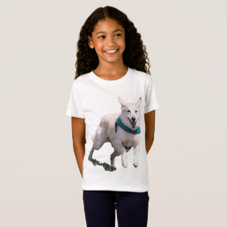 De T-shirt van het Meisje van het Afbeelding van