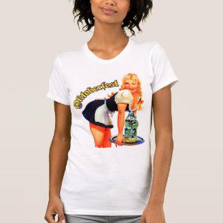 De T-shirt van het Meisje van Oktoberfest