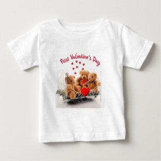 De T-shirt van het Monogram van de Dag van leuke