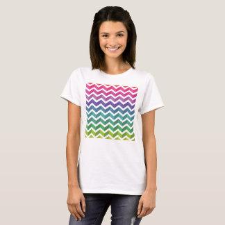 De T-shirt van het Patroon van de zigzag