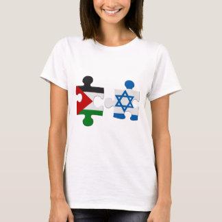 De T-shirt van het Raadsel van de Vlag van het