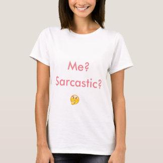 De T-shirt van het sarcasme