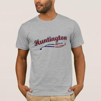 De T-shirt van het Strand van Huntington