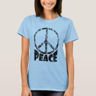 De T-shirt van het Teken van de vrede voor Vrouwen
