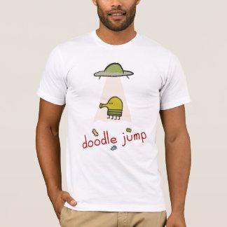 De T-shirt van het UFO van de Sprong van de