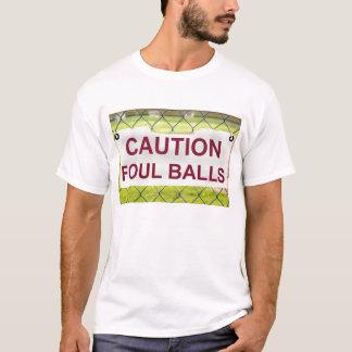 De T-shirt van het Vuile van de Ballen van de