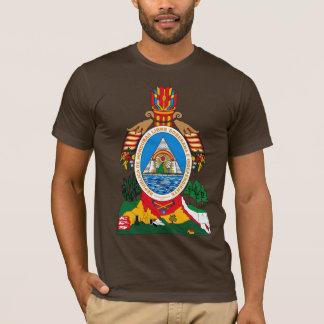 De T-shirt van het Wapenschild van Honduras