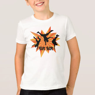 De t-shirt van Hip Hop