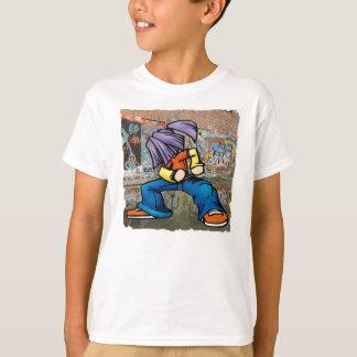 De T-shirt van Hip Hop Graffiti