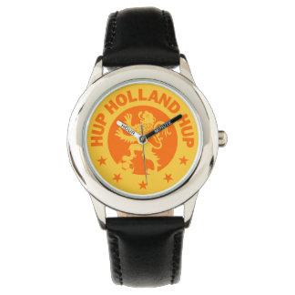 De T-shirt van Holland van Hup - het Nederlandse Horloges