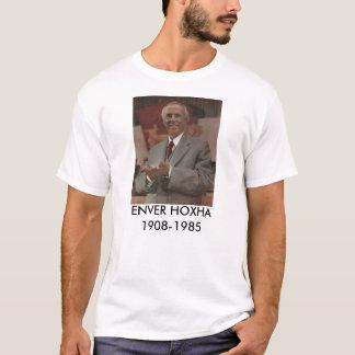 De T-shirt van Hoxha van Enver