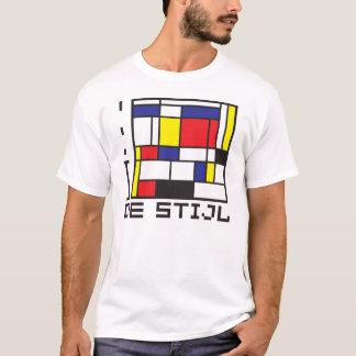 De T-shirt van I LOVE DE STIJL