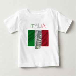 De T-shirt van Italië van het baby