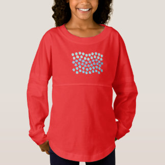 De T-shirt van Jersey van de Geest van de blauwe