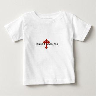 De T-shirt van Jesus Loves Me Infant