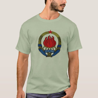 De T-shirt van Joegoslavië