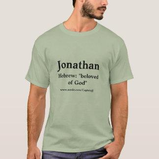 De T-shirt van Jonathan