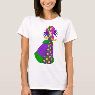 De T-shirt van Koningin Women's van Mardi Gras