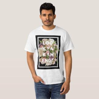 De T-shirt van Kya Kahenge van het logboek