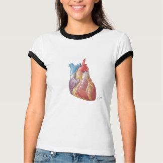De T-shirt van Ladie van het Hart van Netter