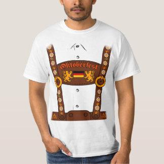 De T-shirt van Lederhosen van Oktoberfest