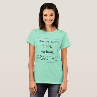 "De T-shirt van ""leraren"""