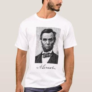 De T-shirt van Lincoln van Abe