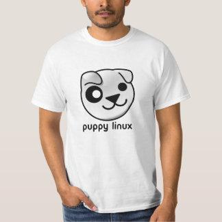 De T-shirt van Linux van het puppy