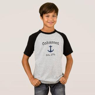 De T-shirt van Massachusetts van Cohasset voor