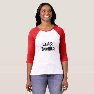De T-shirt van minste Beroemde Vrouw