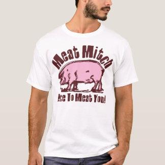 De T-shirt van Mitch van het vlees