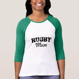 De T-shirt van Mum van het rugby