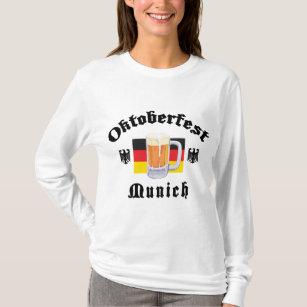De T-shirt van München van Oktoberfest
