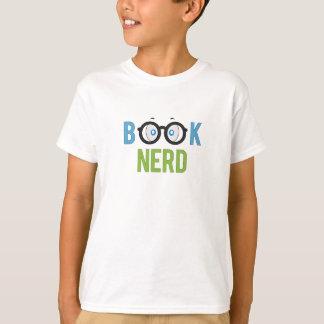 De T-shirt van Nerd van het boek voor Jongens