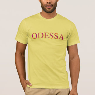 De T-shirt van Odessa