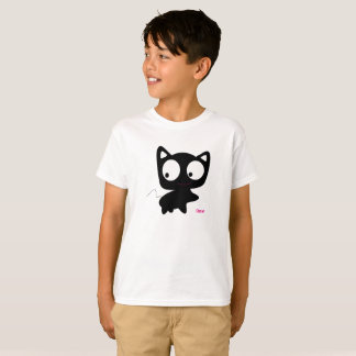 De T-shirt van Oscar Boys Girls Kids Cat, het