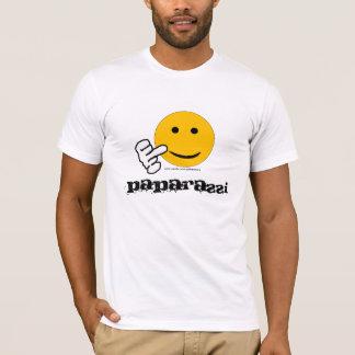 De T-shirt van Paparazzi van de middelvinger