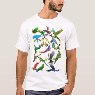 De T-shirt van papegaaien Galore