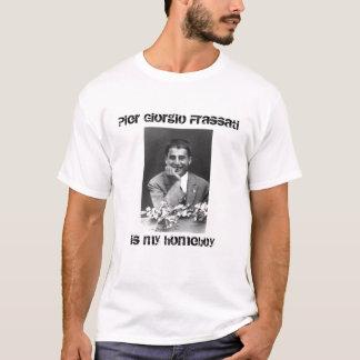 De t-shirt van Pier Giorgio Frassati