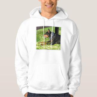 De T-shirt van Pinscher van Doberman