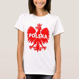 De T-shirt van Polen Polska Eagle van vrouwen